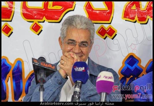حمدين صباحي في حزب الكرامة يوليو 2014