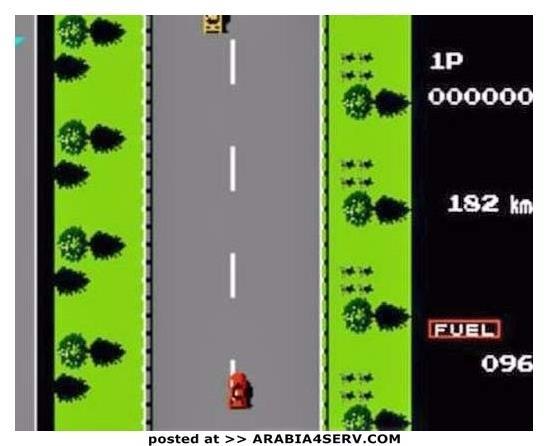 لعبة سباق السيارات القديمة