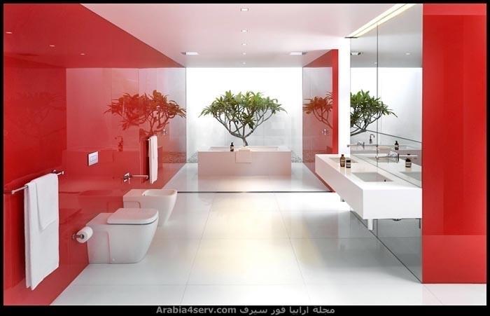 اجمل-البوم-صور-حمامات-باللون-الاحمر-5
