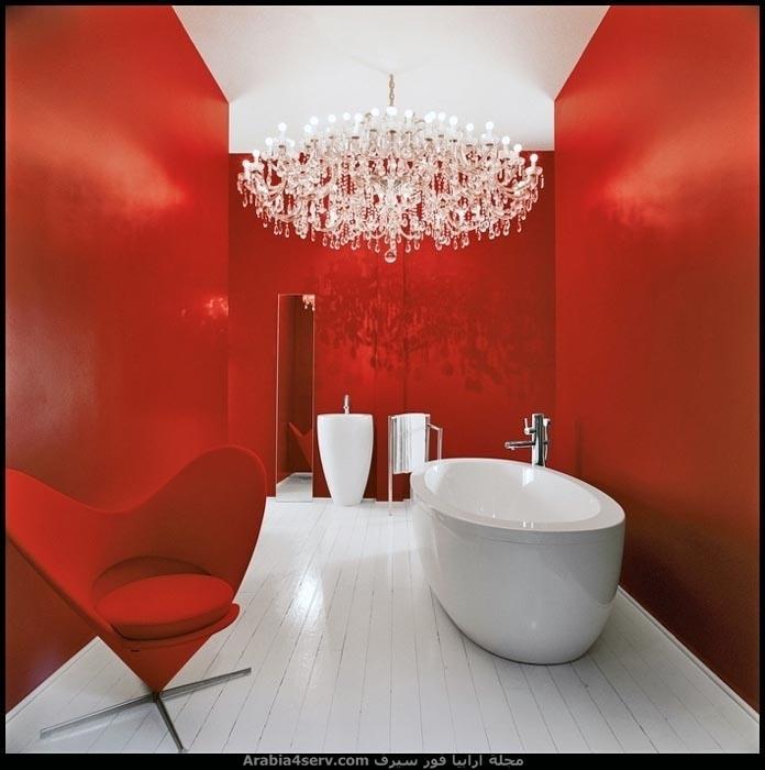 اجمل-البوم-صور-حمامات-باللون-الاحمر-9