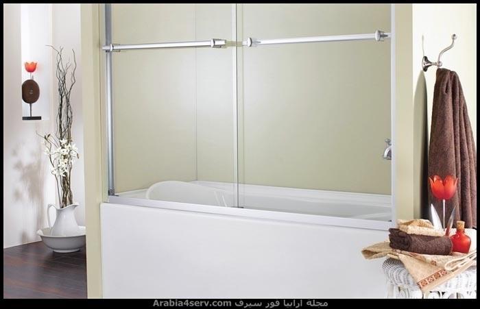 صور-حمامات-مودرن-باللون-الأبيض-2