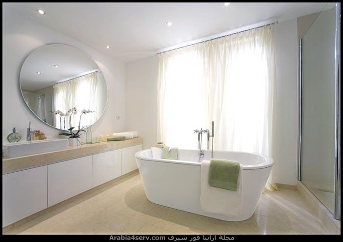 صور-حمامات-مودرن-باللون-الأبيض-21