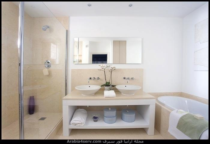 صور-حمامات-مودرن-باللون-الأبيض-22