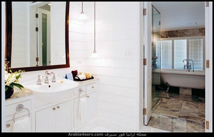 صور-حمامات-مودرن-باللون-الأبيض-4