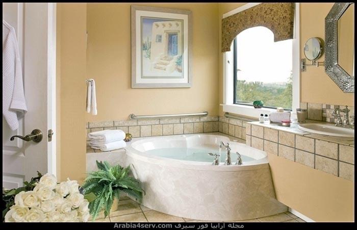 صور-حمامات-مودرن-باللون-الأبيض-7