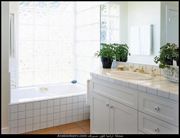 صور-حمامات-مودرن-باللون-الأبيض-9