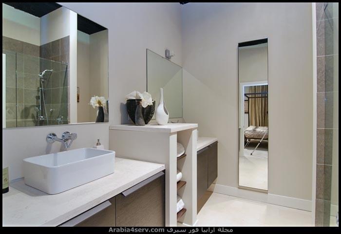 صور-ديكورات-حمامات-مودرن-باللون-الاسود-7