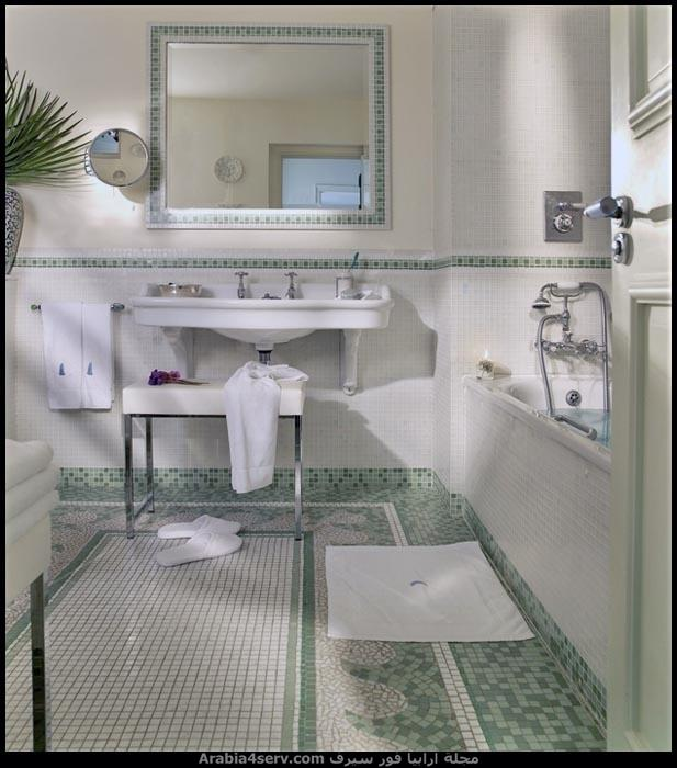 صور-حمامات-مودرن-باللون-الأخضر-7