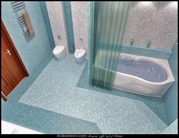 صور-ديكورات-حمامات-مودرن-باللون-الازرق-4