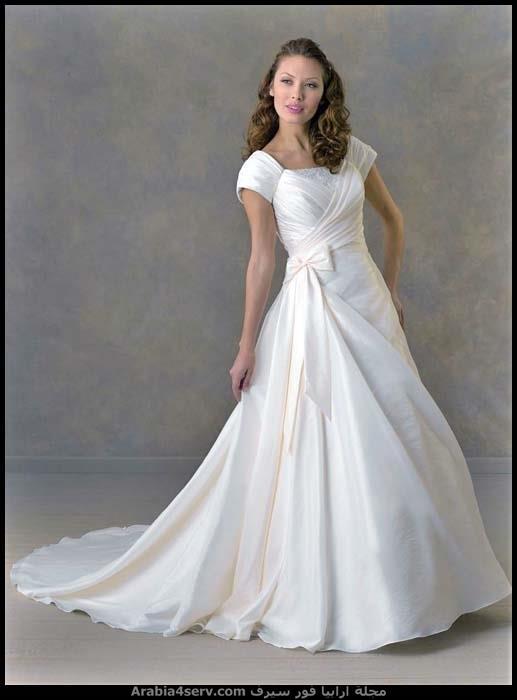 فساتين-زفاف-منفوشة-1