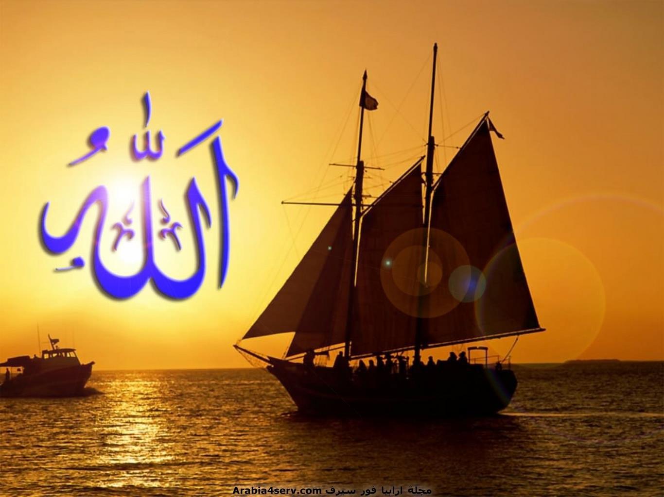 خلفيات-لفظ-الجلالة---كلمة-الله---اسلامية-3