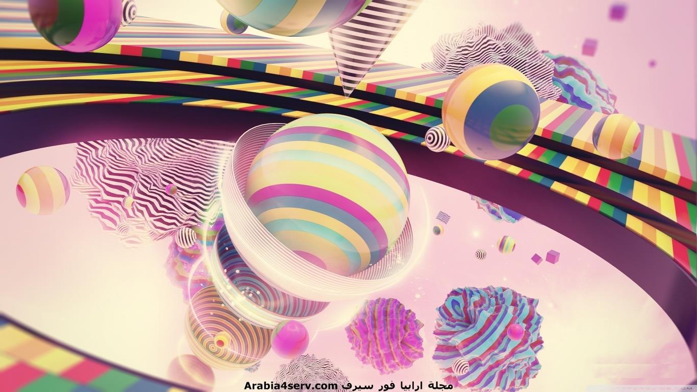 تحميل اجمل احدث اروع خلفيات 3D ثلاثية الابعاد