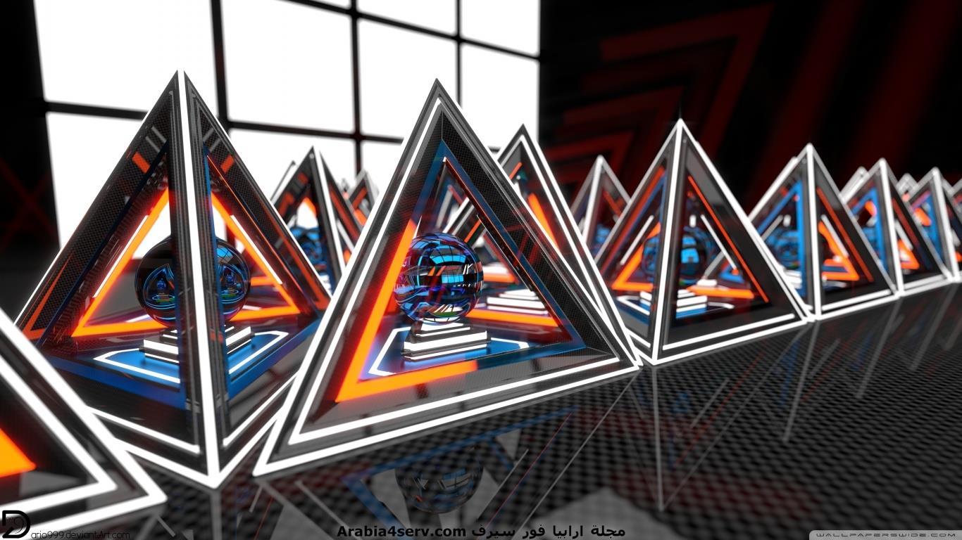خلفيات ثلاثية الابعاد لسطح المكتب