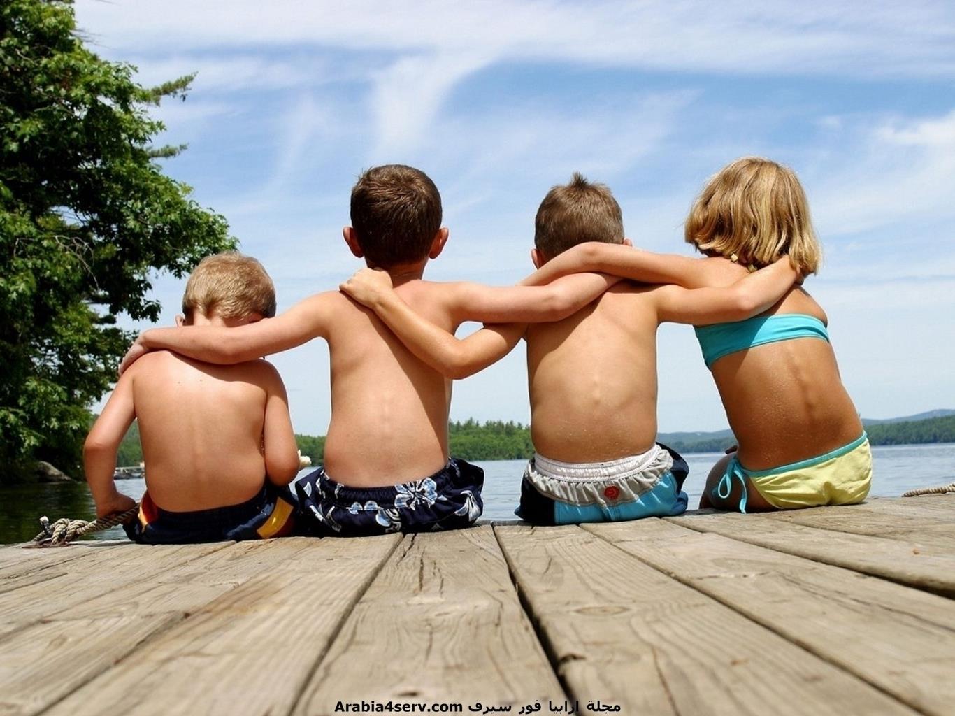 خلفيات-وصور-اطفال-اصدقاء-12