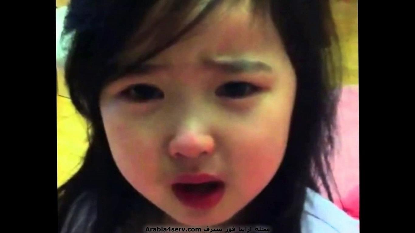 طفلة كورية عسل
