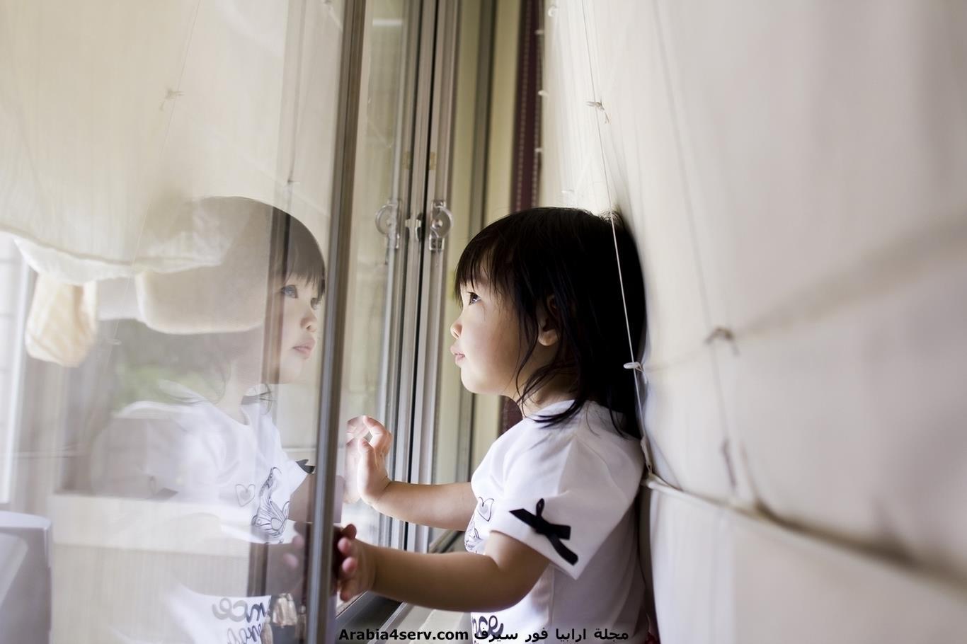 طفلة يابانية