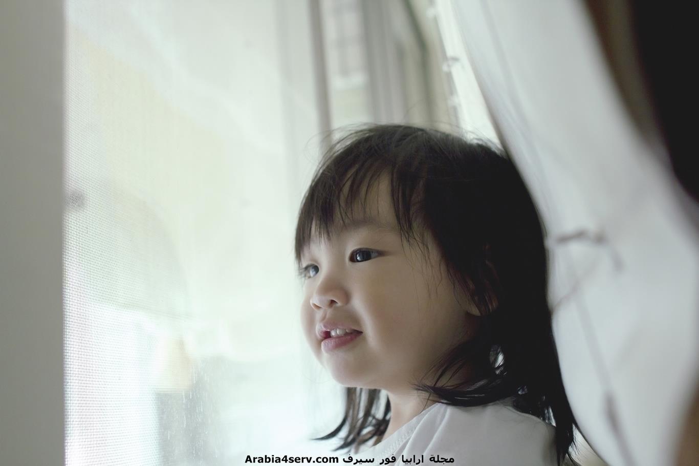 اطفال يابانيين