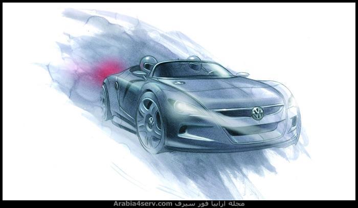 رسومات سيارات جميلة فنية