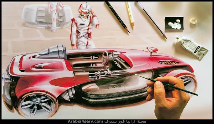 رسومات-سيارات-جميلة-فنية-8