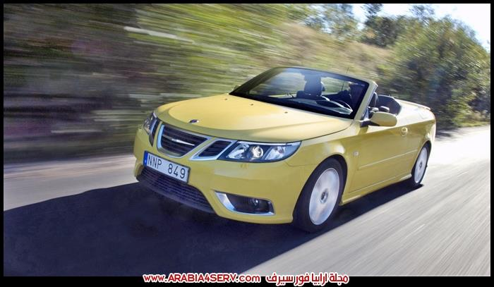 صور-سيارة-ساب-9-3-مكشوفة-Saab-9-3-Convertible-1