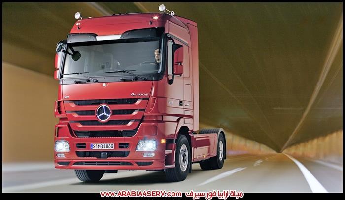 صور-شاحنات-سيارات-نقل-ثقيل-مرسيدس-1