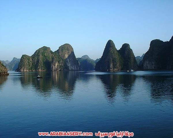 صور-خليج-هالونج-باي-في-فيتنام-صخور-غريبة-جدا-2