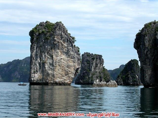 صور-خليج-هالونج-باي-في-فيتنام-صخور-غريبة-جدا-3