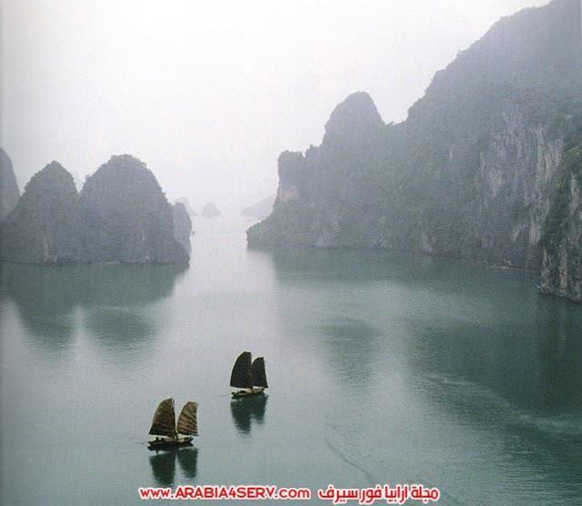 صور-خليج-هالونج-باي-في-فيتنام-صخور-غريبة-جدا-5