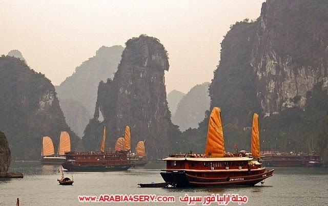 صور-خليج-هالونج-باي-في-فيتنام-صخور-غريبة-جدا-6