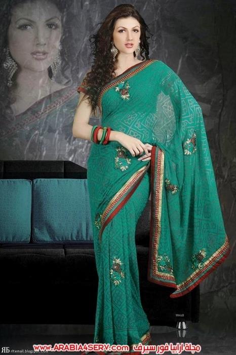 صور-رائعة-للساري-الهندي---الزي-التقليدي-11