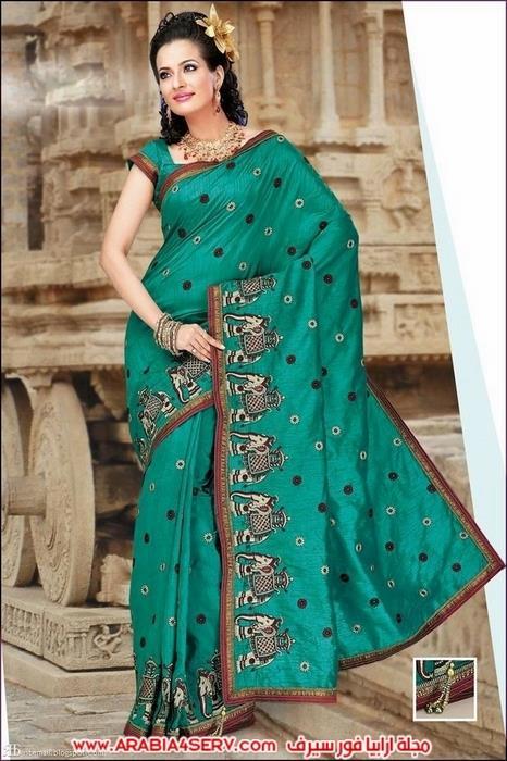 صور-رائعة-للساري-الهندي---الزي-التقليدي-2