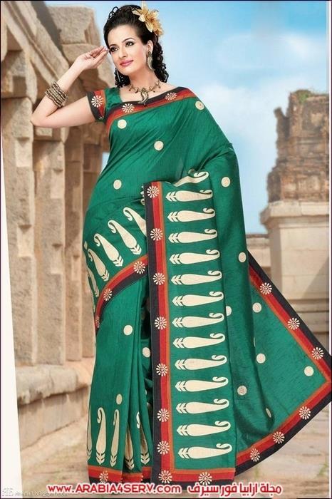 صور-رائعة-للساري-الهندي---الزي-التقليدي-3