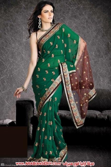 صور-رائعة-للساري-الهندي---الزي-التقليدي-5