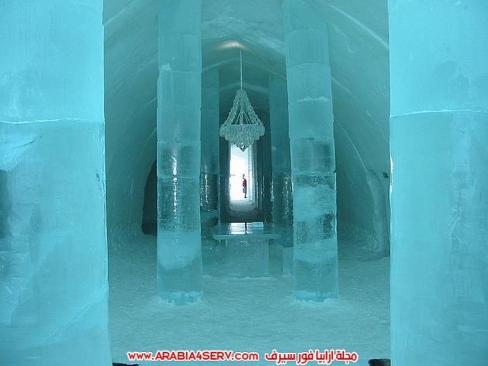 فندق الثلج في السويد