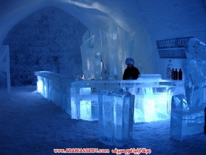 فندق-الثلج-في-السويد-9