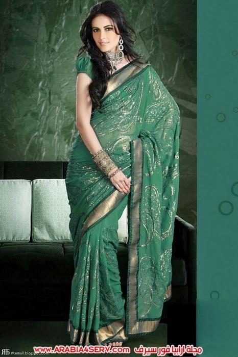 صور-رائعة-للساري-الهندي---الزي-التقليدي-6
