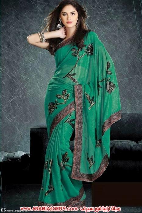 صور-رائعة-للساري-الهندي---الزي-التقليدي-7