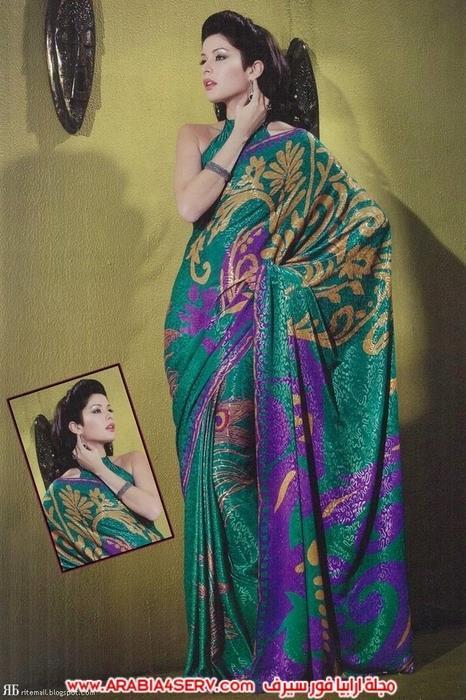 صور-رائعة-للساري-الهندي---الزي-التقليدي-8